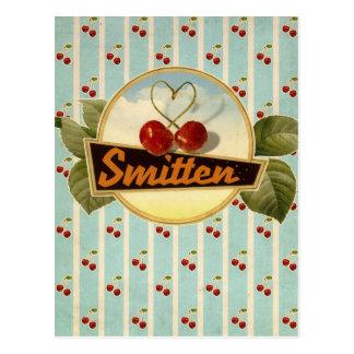 Smitten Postkarte