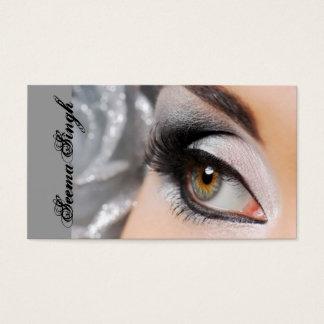Smokey Augensilber Visitenkarte