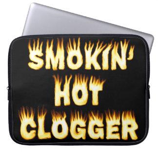 Smokin heißer Clogger Tanz Laptopschutzhülle