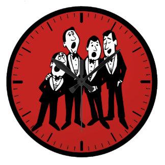 Smoothe Quartett-Uhr Große Wanduhr