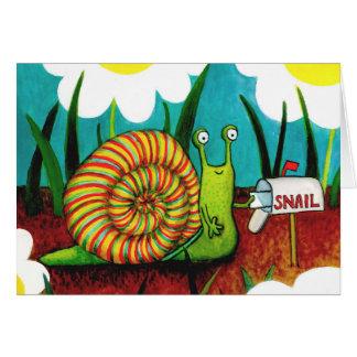 Snail- mailkarte karte