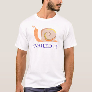 Snailed es T-Shirt