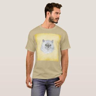 Snarky Katze Furball Smirkwatercolor-seltener T - T-Shirt