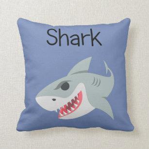 GroB Snarky Sharky Haifisch Kissen