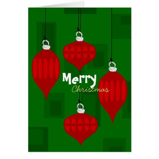 Snazzy Weihnachten Grußkarte