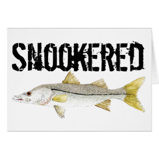 Snookered Snook Karte
