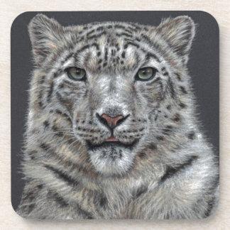 Snow Leopard - Schneeleopard Untersetzer