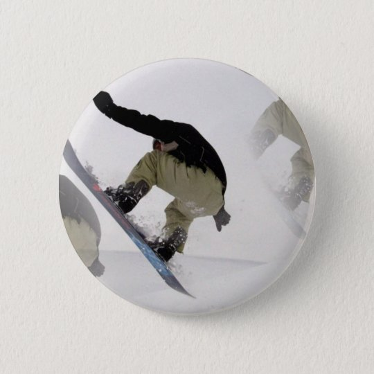 Snowboard befördert ringsum Knopf mit der Runder Button 5,7 Cm