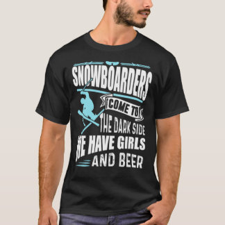 Snowboarders-witzige Shirts
