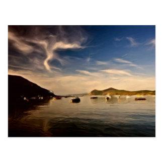 Snowdonia Ansichten Postkarte