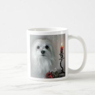 Snowdrop das maltesische kaffeetasse