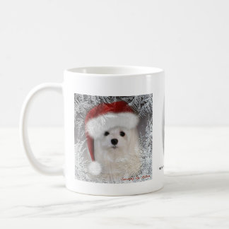 Snowdrop die maltesische WeihnachtsTasse Kaffeetasse