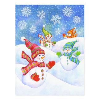 SnowGirls Postkarte