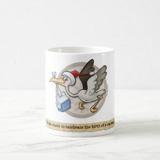 Snowman-Storch-Lieferungs-Tasse Kaffeetasse