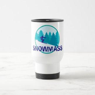 Snowmass Ski-Kreis Reisebecher