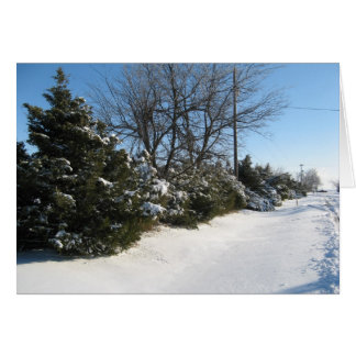 Snowy-Baum-in Folge Karte