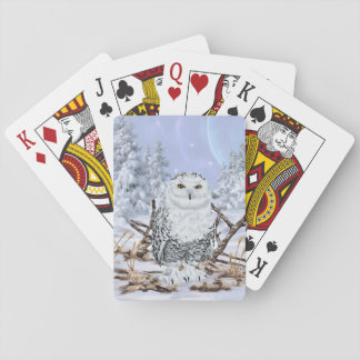 Snowy-Eule Spielkarten