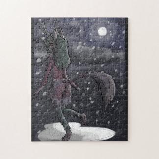 Snowy-Nachtpuzzle