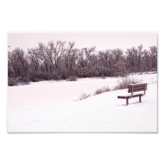 Snowy-Tage Fotodruck