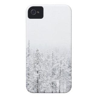 Snowy-Wald iPhone 4 Etuis