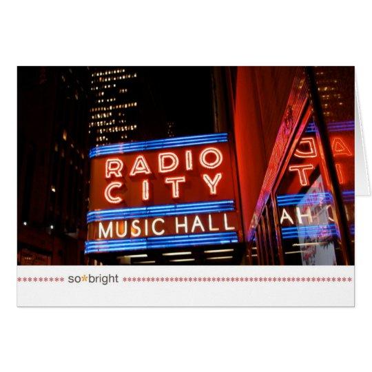 so*bright_NYC Anmerkungskarte Karte
