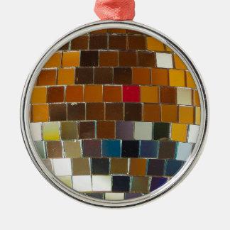 So heiß sind Sie - Disco-Ball cool Rundes Silberfarbenes Ornament