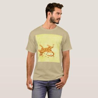 So müder Mucho Arbeit Gato Watercolor-seltener T - T-Shirt