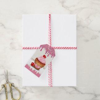 So süßer kleiner Kuchen persönlich oder Geschenkanhänger
