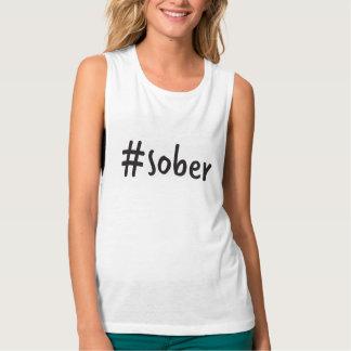 #sober Muskelunterhemd Tank Top
