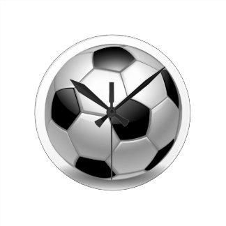 Soccer Runde Wanduhr