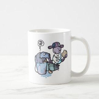 Socke-Munky-Tauchen Sie ein Kaffeetasse