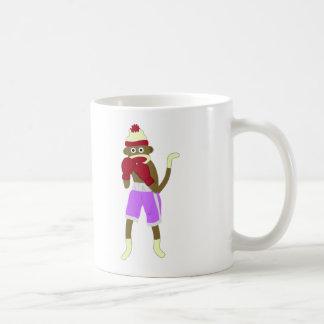 Socken-Affe-Boxer Kaffeetasse