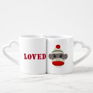 Socken-Affe-Gesicht geliebte Tassen