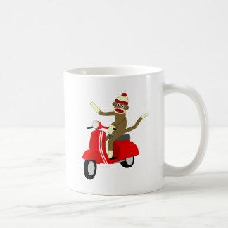 Socken-Affe-Roller Kaffeetasse