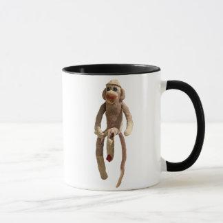Socken-Affe-Schale Tasse