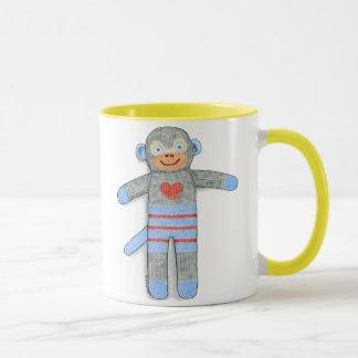 Socken-Affe-Tasse Tasse