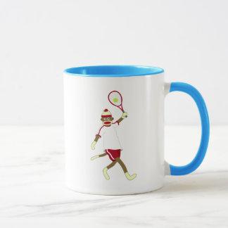 Socken-Affe-Tennis Tasse