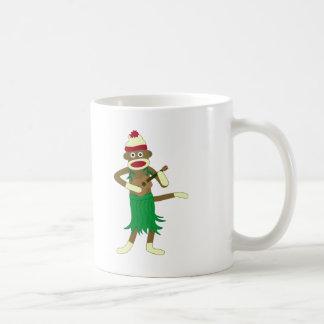 Socken-AffeUkulele Kaffeetasse