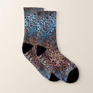 Socken-ethnisches Stammes- Muster Socken