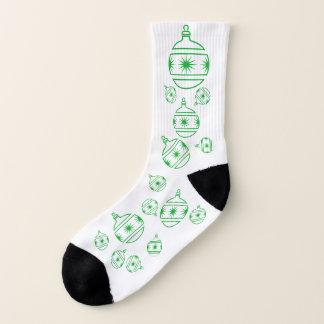 Socken - grüne Baum-Dekorationen