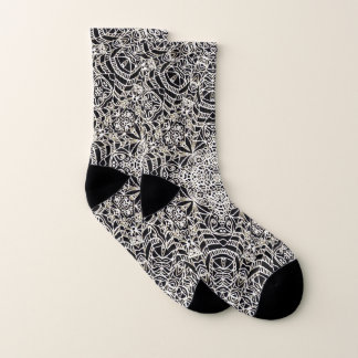 Socken Mehndi ethnische Art G419