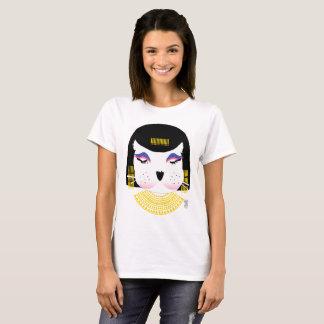 Socken-Puppen-Tierkleopatra-Grafik-T-Shirt T-Shirt