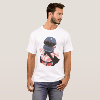 Sockenpuppe handgemachtes T-Shirt