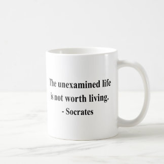 SOCRATES-Zitat 2a Kaffeetasse