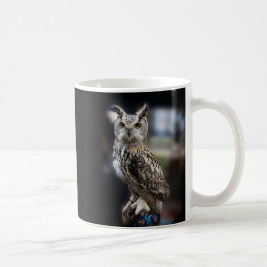 SOCRATES-Zitat-Eagle-Eule Kaffeetasse