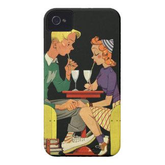 Soda für zwei - Vintage Fünfzigerjahre iPhone 4 Case-Mate Hüllen
