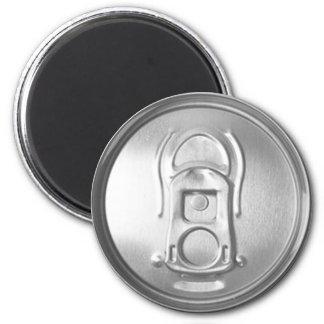 Soda-Pop-Deckel Runder Magnet 5,1 Cm