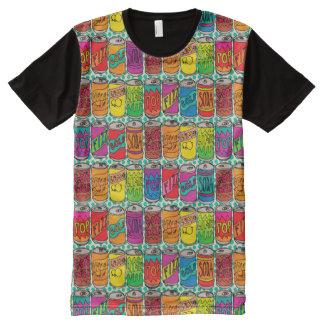 Soda-Pop-Dosen T-Shirt Mit Bedruckbarer Vorderseite
