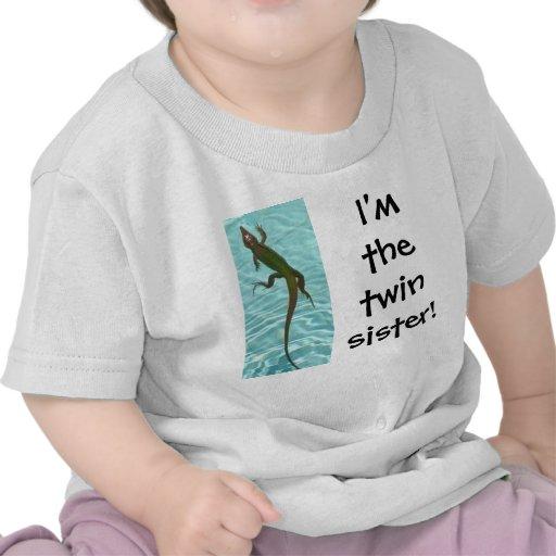Soeur jumelle - lézard t-shirt