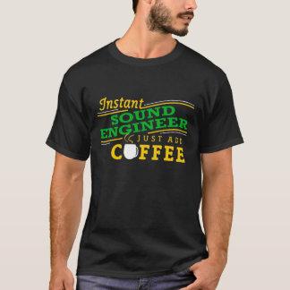 Sofortiger solider Ingenieur-(addieren Sie einfach T-Shirt